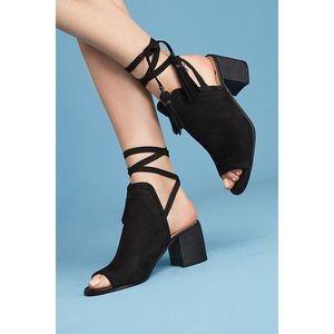 [Sam Edelman] Sampson Block Peep Toe Heel Shoes